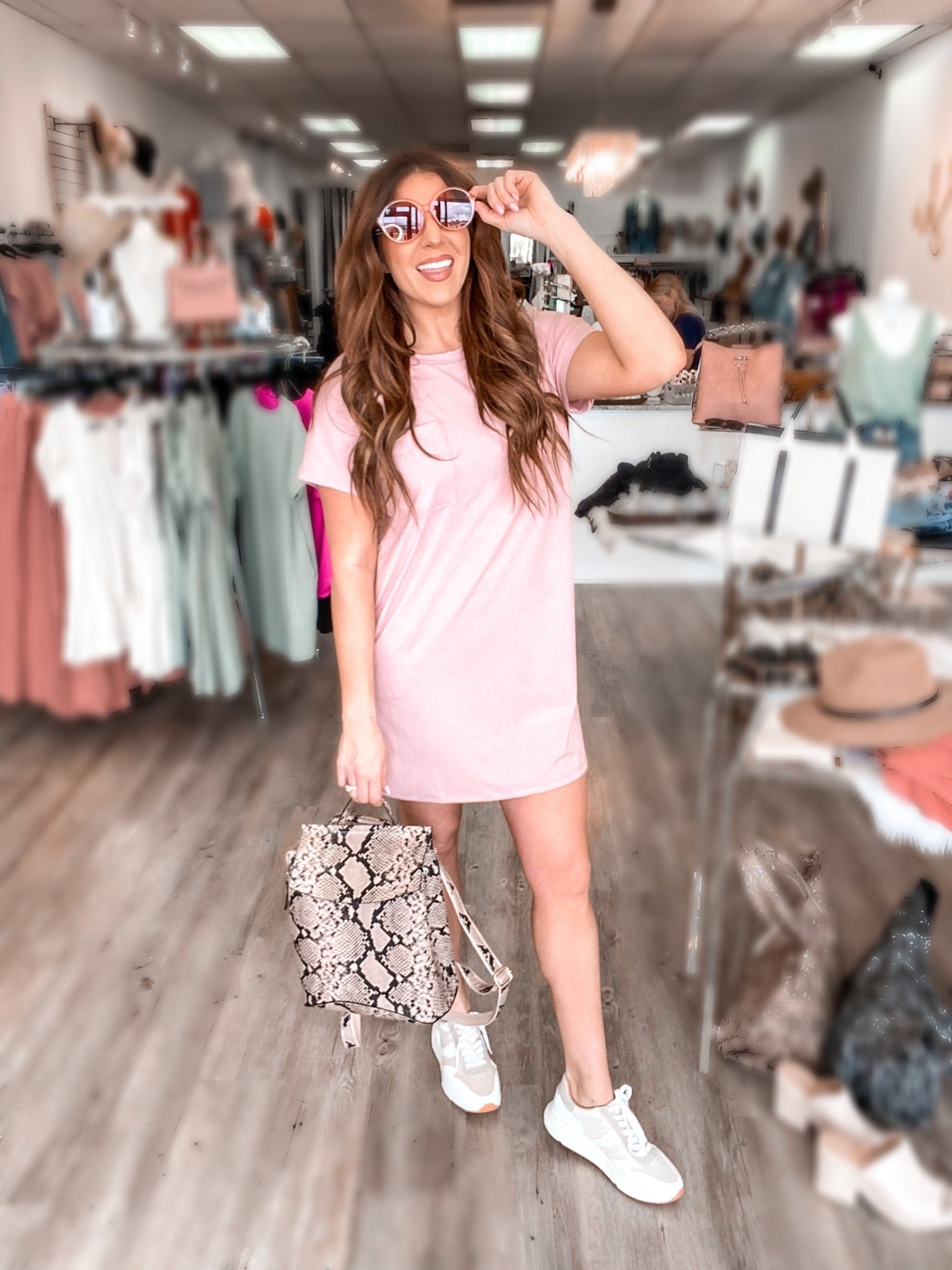 The Lauren Tee Shirt Dress 6224