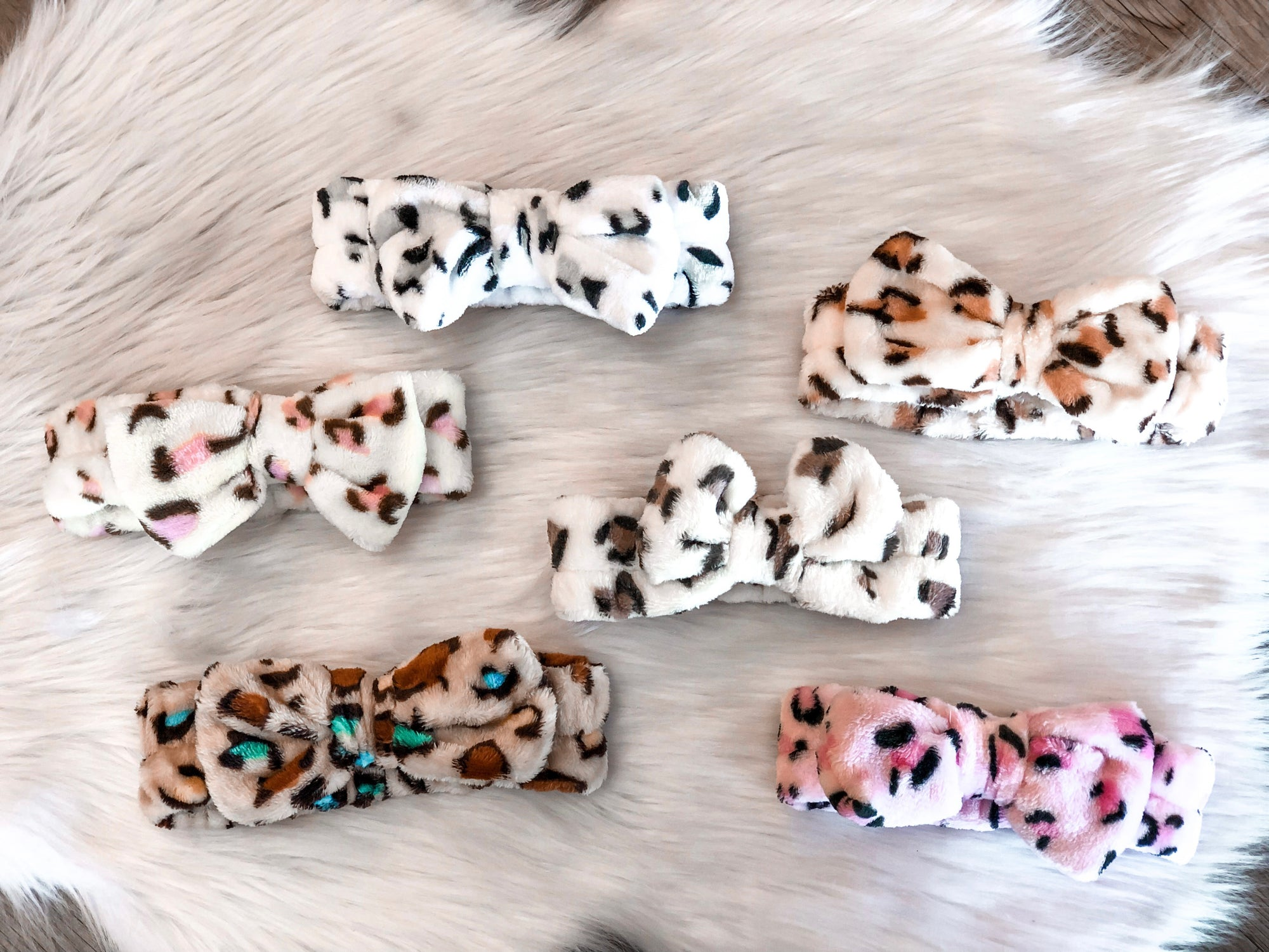 SPA HEADBAND, LEOPARD