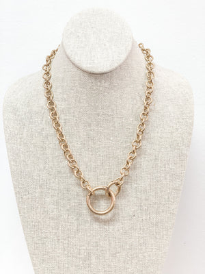Zoe Spring Ring Necklace 21844
