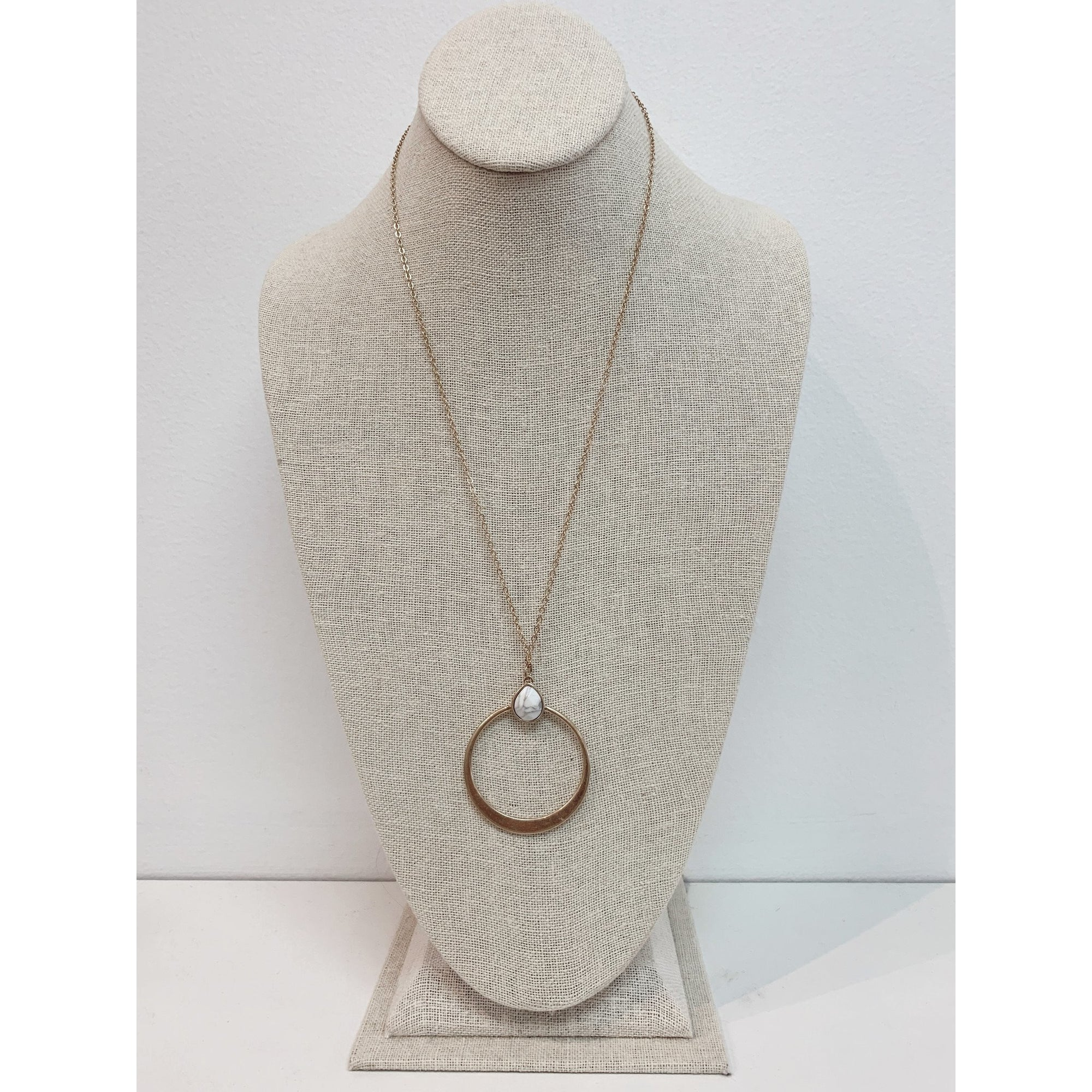Moonstone Necklace 0538
