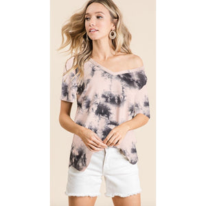 Tie Dye Hairy Top 1021-72