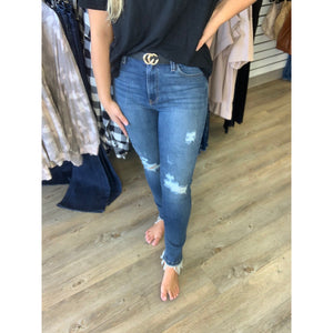 High Rise Destructed Skinny 305