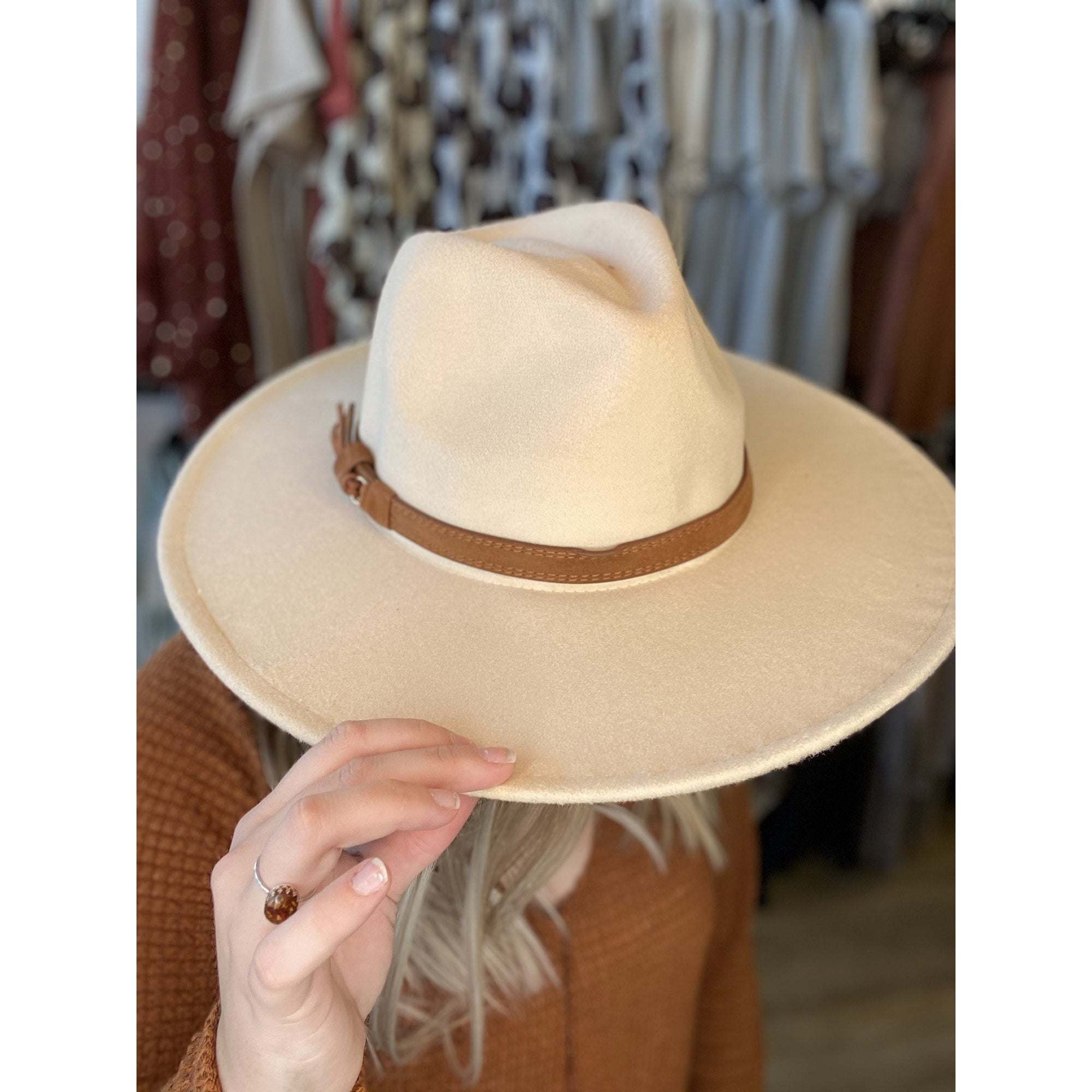 Wide Brim Panama Hat 311114
