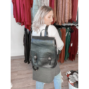 Cindy Buckle Backpack 0357