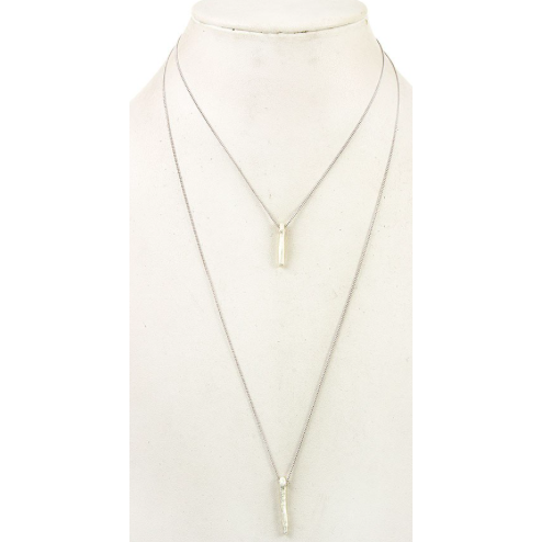 2 Layer Bar Necklace 177067