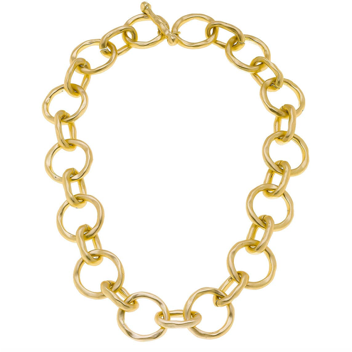 Circles & Ovals Link Necklace 21880