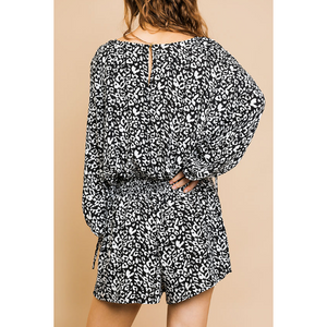 Wild Out Romper 5487