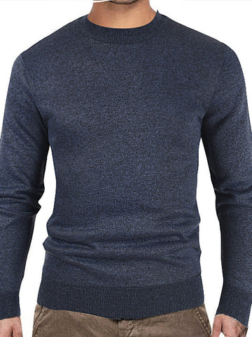 Cotton Casual Crew Neck Sweater