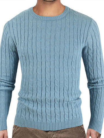 Plain Crew Neck Sweater