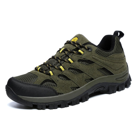 Men's Athletic Non-slip Breathable Leisure Sports Mesh Outdoor Hiking Shoes
