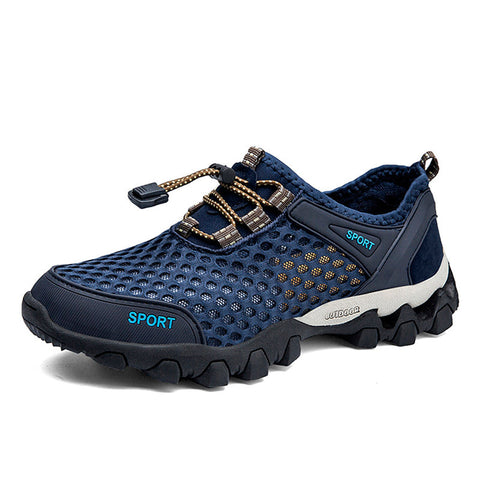 Men's Summer Mesh Breathable Sports Non-slip Outdoor Hiking Shoes