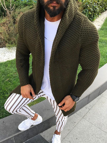Long Knitted Jacket