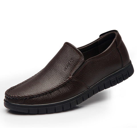 New Slip-on Genuine Leather Formal Shoes