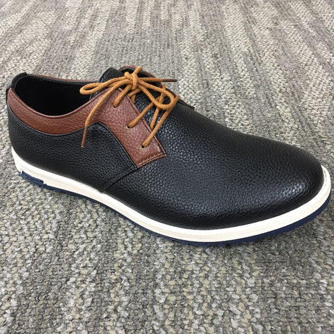 Office & Career Leather Split Joint Formal Shoes