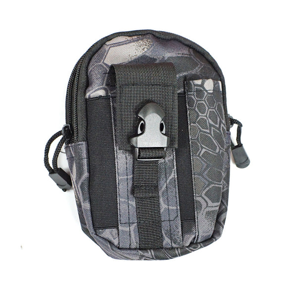 5.5 Inch Outdoor EDC Tactical Molle Waist Bag Pack Men Cell Phone Case Wallet Pouch Holder For iphone 8 Xiaomi Camping Hiking
