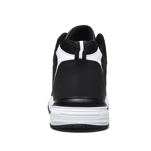 Leather Split Joint Daily Sneakers