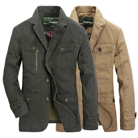 Spring/Fall Men's Loose Large Size Business Jackets Coats