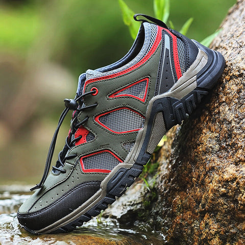 Men Mesh Breathable Hiking Creek Water shoes