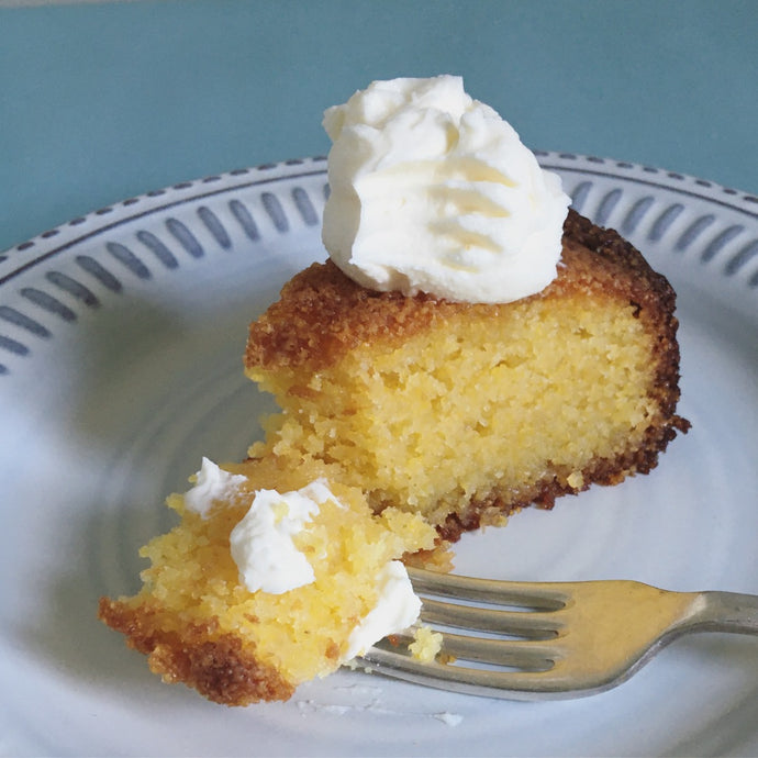 Nigella's Lemon Polenta Cake Recipe