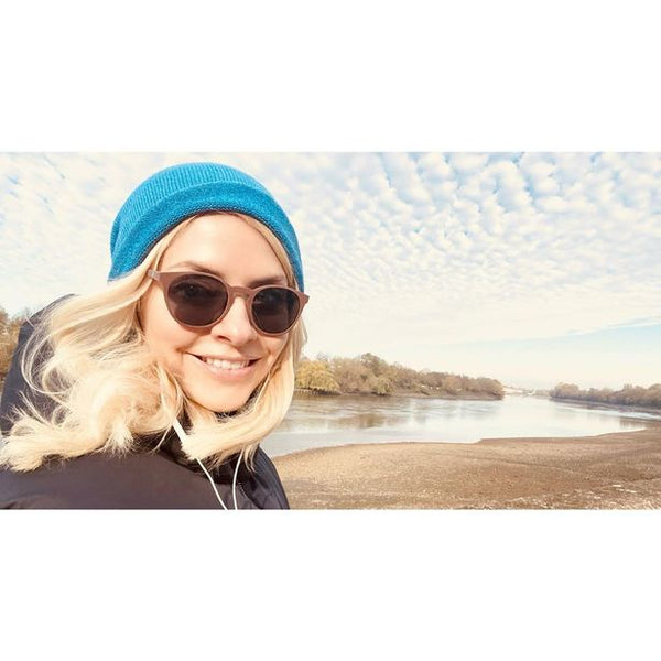 Holly Willoughby Wears Albacore Sunglasses