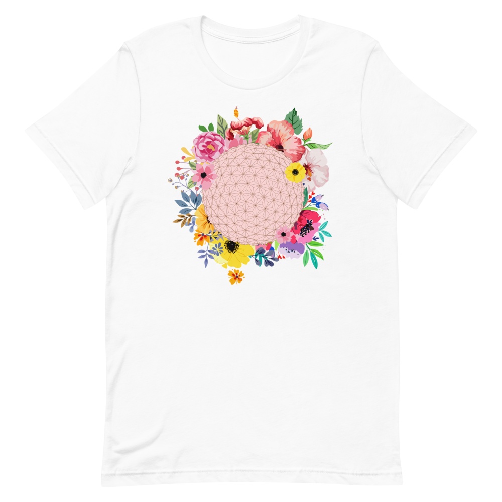 """Flower and Garden Ball"" Unisex Tee"