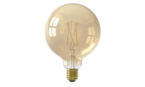 LED Calex Smart Globelamp Goud  E27 7W