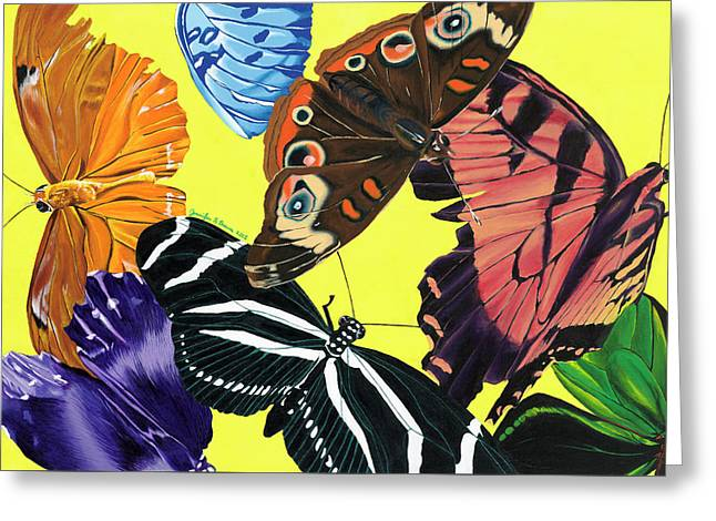 Butterfly Waltz - Greeting Card
