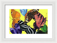 Load image into Gallery viewer, Butterfly Waltz - Framed Print