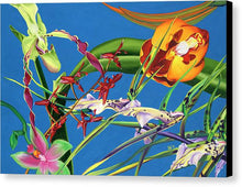 Load image into Gallery viewer, Enter the Orchids  - Canvas Print