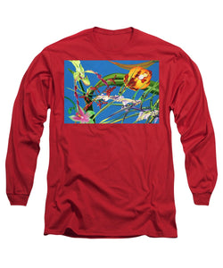 Enter the Orchids  - Long Sleeve T-Shirt