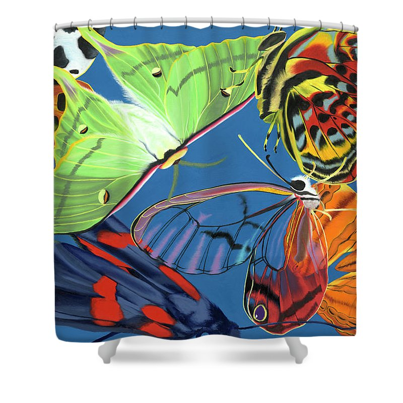 Flutter - Shower Curtain