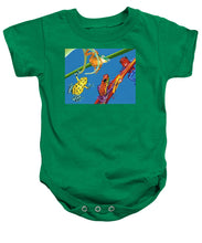 Load image into Gallery viewer, Frog Quartet - Baby Onesie