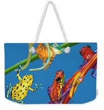 Load image into Gallery viewer, Frog Quartet - Weekender Tote Bag