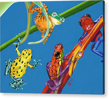Load image into Gallery viewer, Frog Quartet - Acrylic Print
