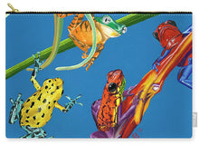 Load image into Gallery viewer, Frog Quartet - Carry-All Pouch