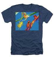 Load image into Gallery viewer, Frog Quartet - Heathers T-Shirt