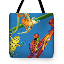 Load image into Gallery viewer, Frog Quartet - Tote Bag