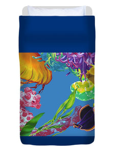 Jelly Undulations - Duvet Cover