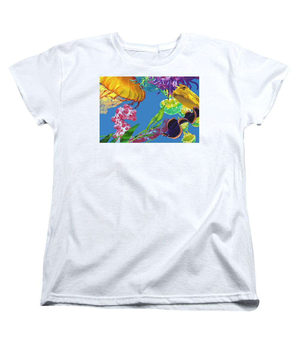Jelly Undulations - Women's T-Shirt (Standard Fit)