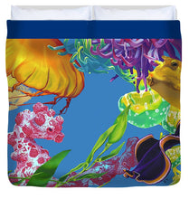 Load image into Gallery viewer, Jelly Undulations - Duvet Cover