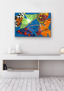 Flutter Giclee on Canvas