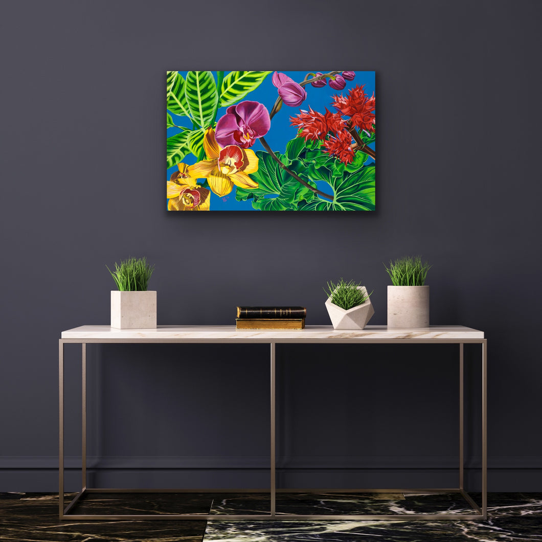 Bursting Forth Giclee on Canvas