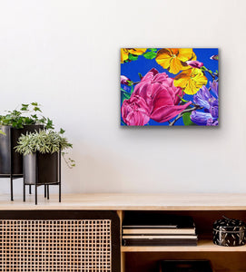 Spring Serenade Giclee on Canvas