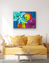 Load image into Gallery viewer, Succulent Tango Giclee on Canvas