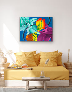 Succulent Tango Giclee on Canvas