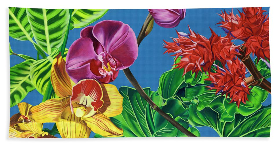 Bursting Forth - Beach Towel
