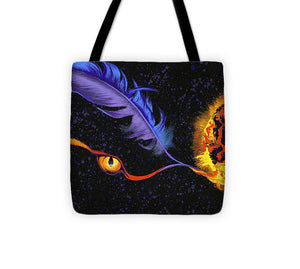 Fire of Night - Tote Bag