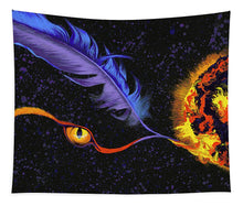 Load image into Gallery viewer, Fire of Night - Tapestry