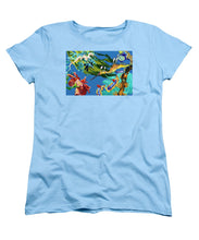 Load image into Gallery viewer, Seadragon's Surpise  - Women's T-Shirt (Standard Fit)