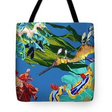 Load image into Gallery viewer, Seadragon's Surpise  - Tote Bag